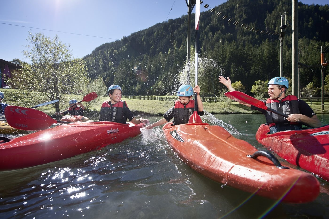 Kayaking in Flachau