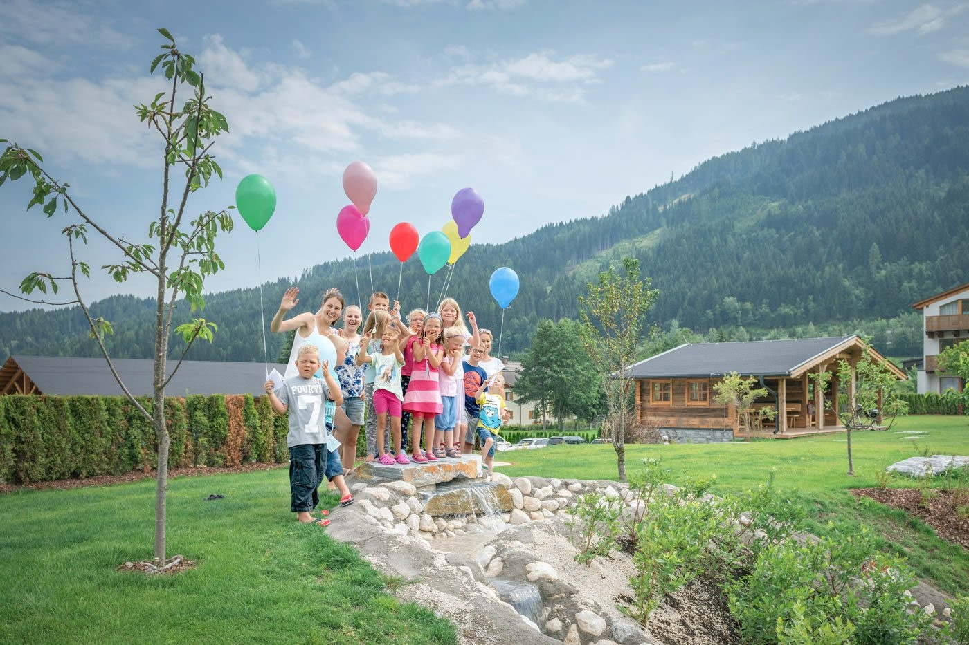 Child care in the Central holiday resort
